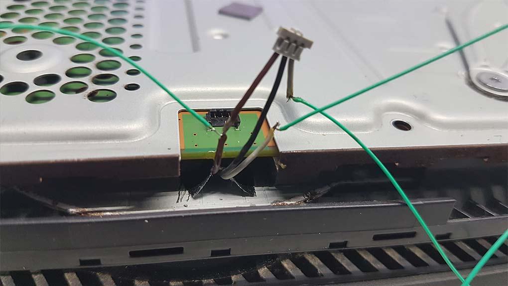cables potenciometro ventilador ps4