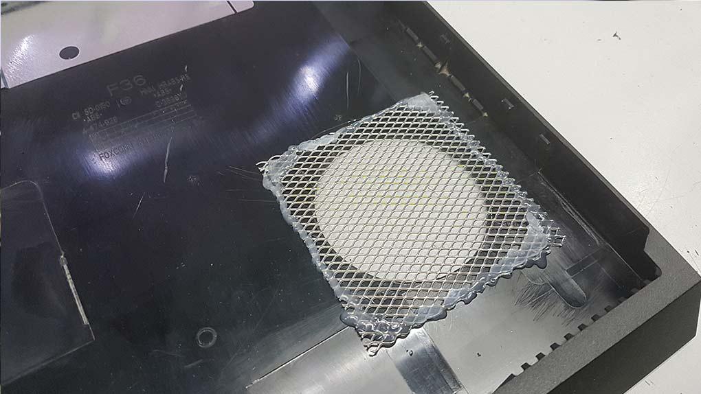 rejilla ventilador ps4