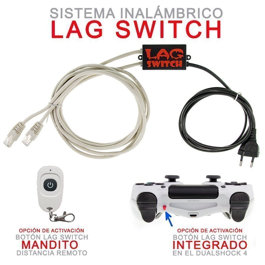 LAG SWITCH MANDO PS4 COMPRAR