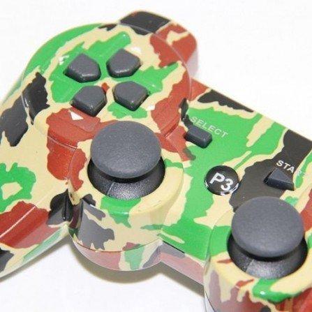 Mando inalámbrico  PS3  (Camo militar)