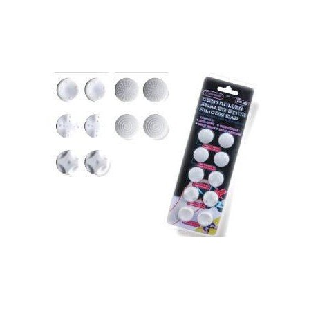 Analog Stick silicon caps PS3/PS4/XBOX360 - Blanco -