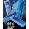 Base Stand Wii -AZUL CROMADO-