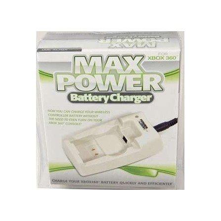 Cargador bateria mando + Adaptador 200v XBOX360