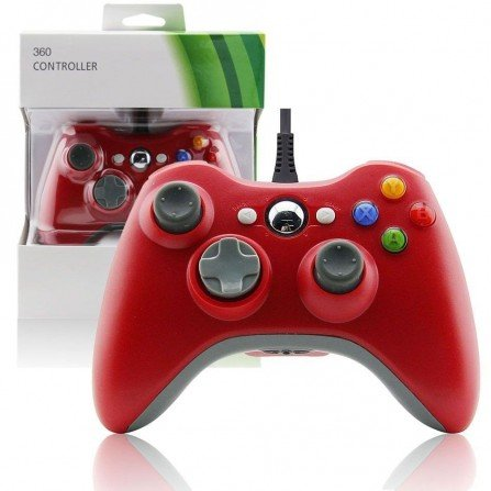 Mando USB PC & Raspberry - ROJO