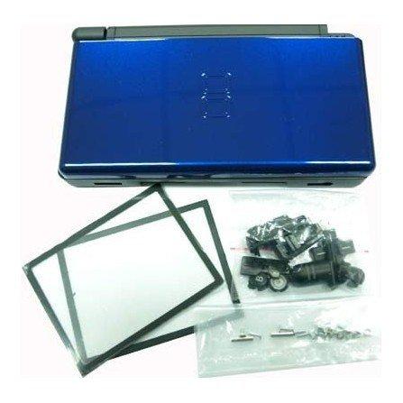 Carcasa DSlite - Negro/Azul metalizado -