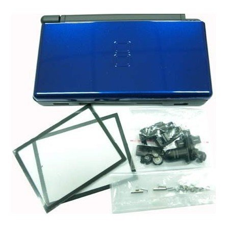 Carcasa DSlite - Negro/Azul metalizado - LIQUIDACION