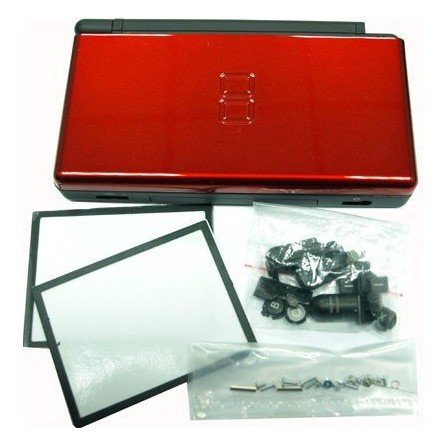 Carcasa DSlite - Negro/Rojo Metalizado - LIQUIDACION