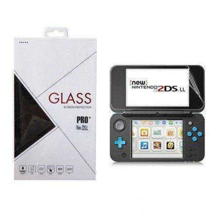 Protector pantalla CRISTAL TEMPLADO NEW 2DS XL
