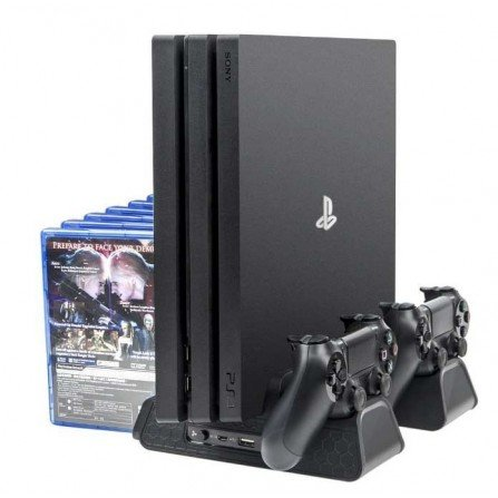 Estación multifunción (4 en 1) PS4 /Fat /Slim /Pro