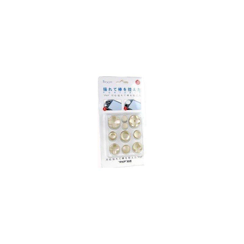 Kit botones EXTRA PSP 1000 ( Oro )