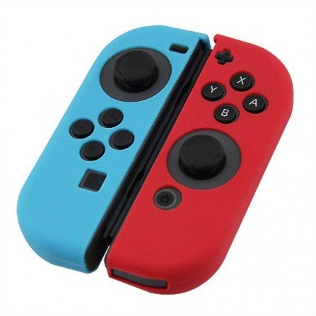 Funda protectora silicona Joy Con Nintendo Switch - BICOLOR