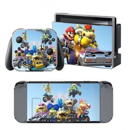Pegatina protectora Nintendo Switch - Mario
