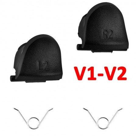 Kit gatillos L2 / R2  + 2  Muelles DualShock 4 PS4