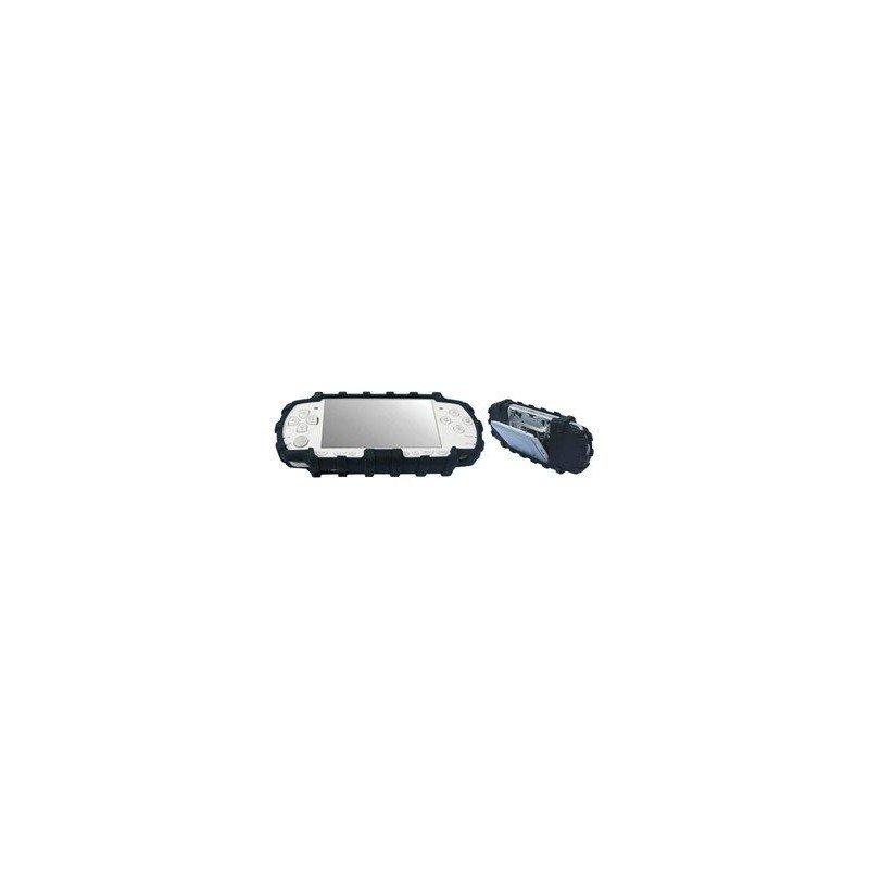 MEGA Protector de silicona antigolpes PSP 2000/3000 -NEGRO-