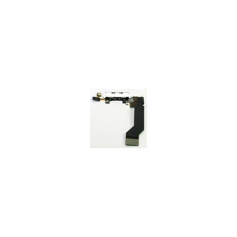 Cable flex conector de carga + Microfono iPhone 4s