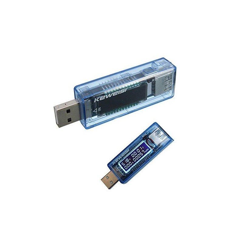 Medidor multimetro USB