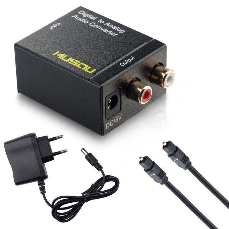 Convertidor audio Digital a Analógico