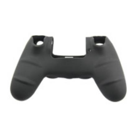 Protector funda silicona mando PS4 - Negro & Azul