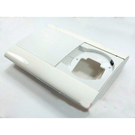 Carcasa Original PS3 Super SLIM CECH:4004 BLANCA (Seminueva)