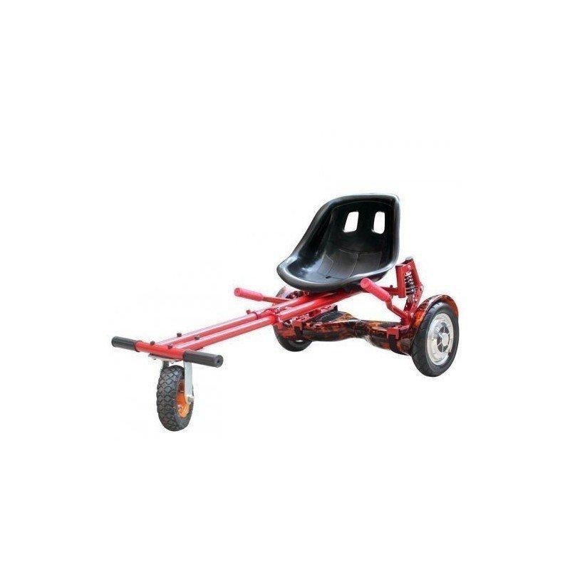 GO Kart con amortiguadores