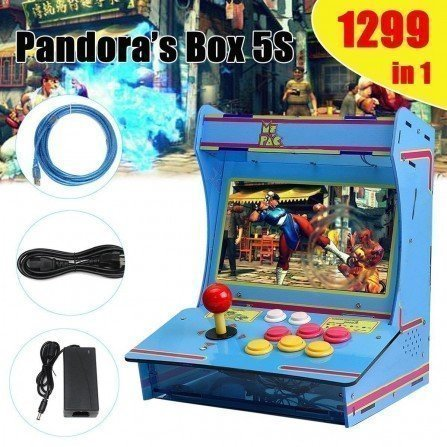 Maquina recreativa MINI - Pandora BOX 5s (1299 Juegos)