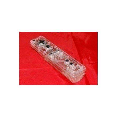 Carcasa mando Wii Remote - TRANSPARENTE
