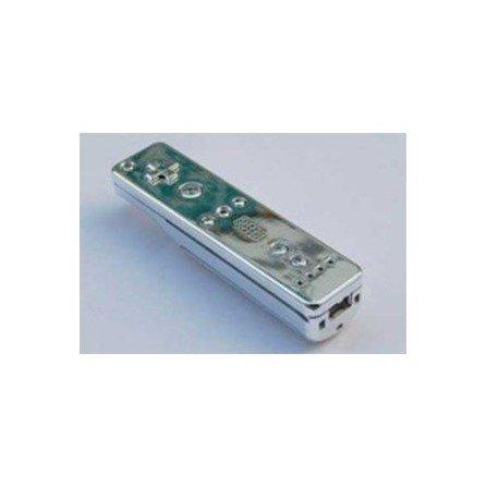 Carcasa mando Wii Remote - CROMADO