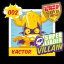 Figura SuperZings - KACTOR