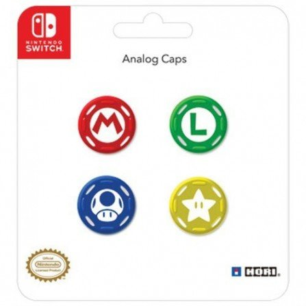 Grips Joystick Pack 4 Nintendo Switch - Super Mario