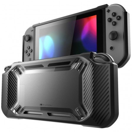 Funda Anti-Golpes Nintendo Switch MEGA PROTECTOR - Transparente