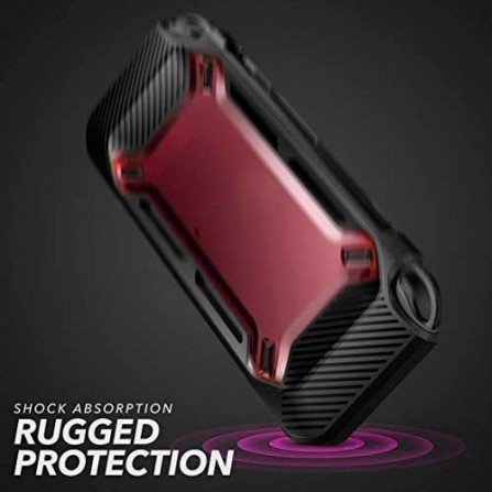 Funda Anti-Golpes Nintendo Switch MEGA PROTECTOR - Rojo