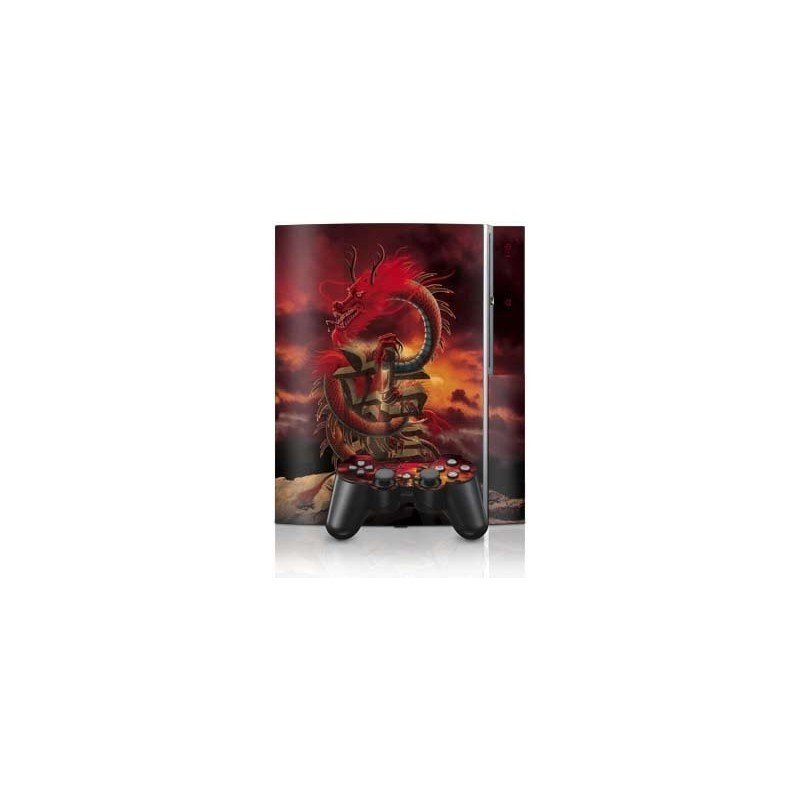 Dragon Rojo skin PS3