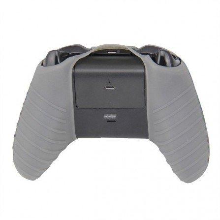 Protector funda silicona mando XBOX ONE - CAMO GRIS