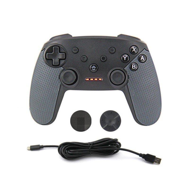 Mando PRO Wireless Nintendo Switch - NEGRO