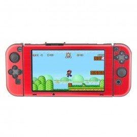 Carcasa protectora ALUMINIO Nintendo Switch - ROJO