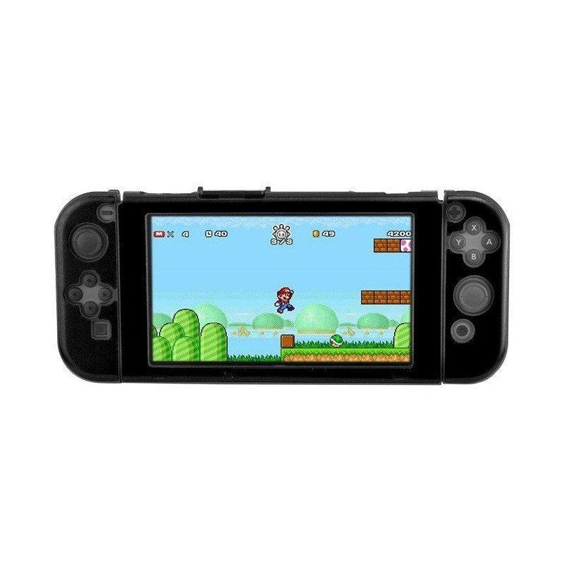 Carcasa protectora ALUMINIO Nintendo Switch - NEGRA