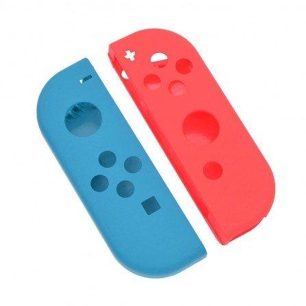 Carcasa mando Joy Con Nintendo Switch - AZUL / ROJO