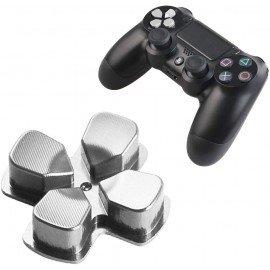 Cruceta direccional DualShock 4 PS4  - Aluminio PLATA