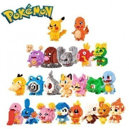 Figura de Mini bloques - Series POKEMON Series
