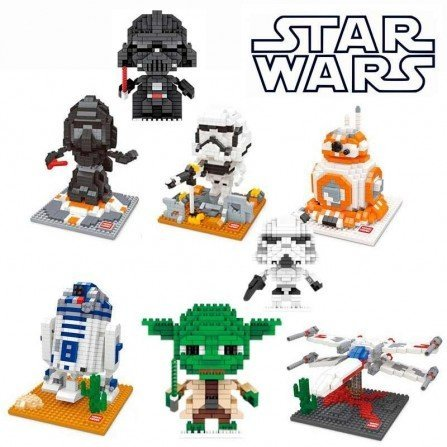 Figura de Mini bloques - Series STAR WARS
