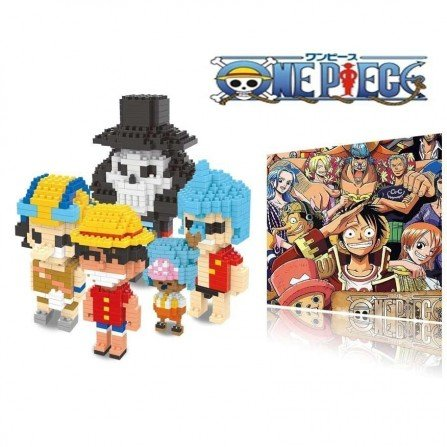 Figura de Mini bloques - Series ONE PIECE