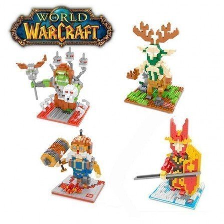 Figura de Mini bloques - Series WARCRAFT