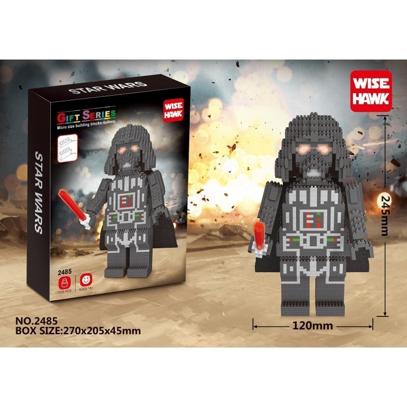 Figura de Mini bloques GIGANTE - Star Wars DARTH VADER