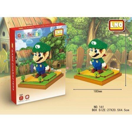 Figura de Mini bloques GIGANTE - LUIGI