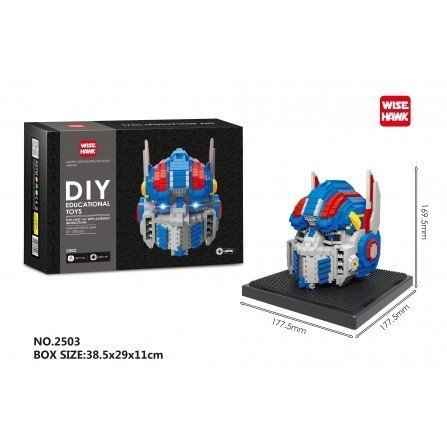Figura de Mini bloques GIGANTE - Transformer OPTIMUS PRIME