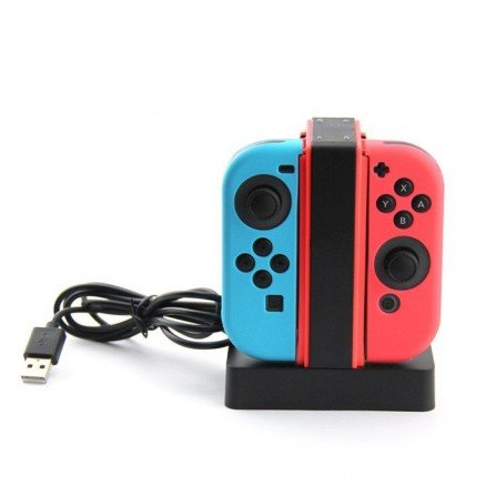 Base de carga 4X mandos JoyCon - Nintendo Switch