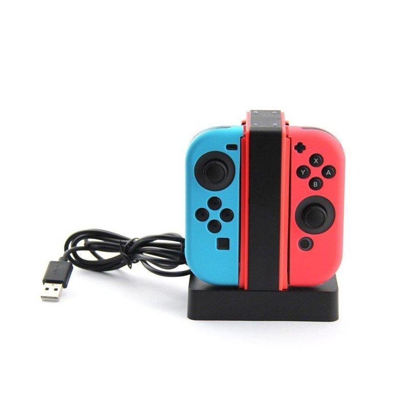 Base de carga 4X mandos Joy-Con - Nintendo Switch