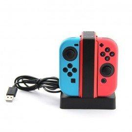 Base de carga 4X mandos Joy Con - Nintendo Switch
