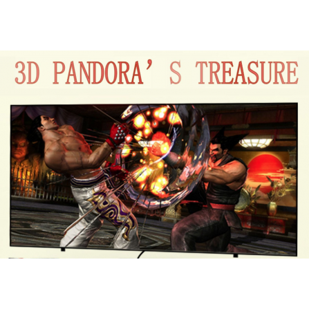 Maquina recreativa sobremesa - Pandora BOX TREASURE 3D