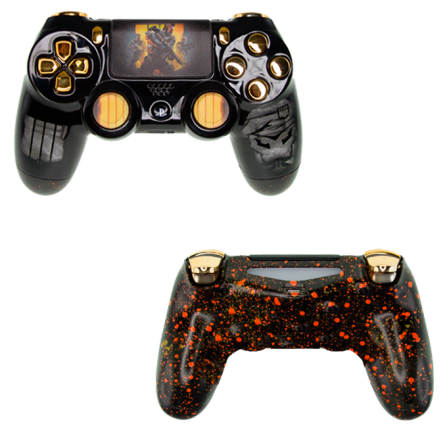 Mando PS4 Personalizado - Call Of Duty BLACK OPS 4 - V1 LED